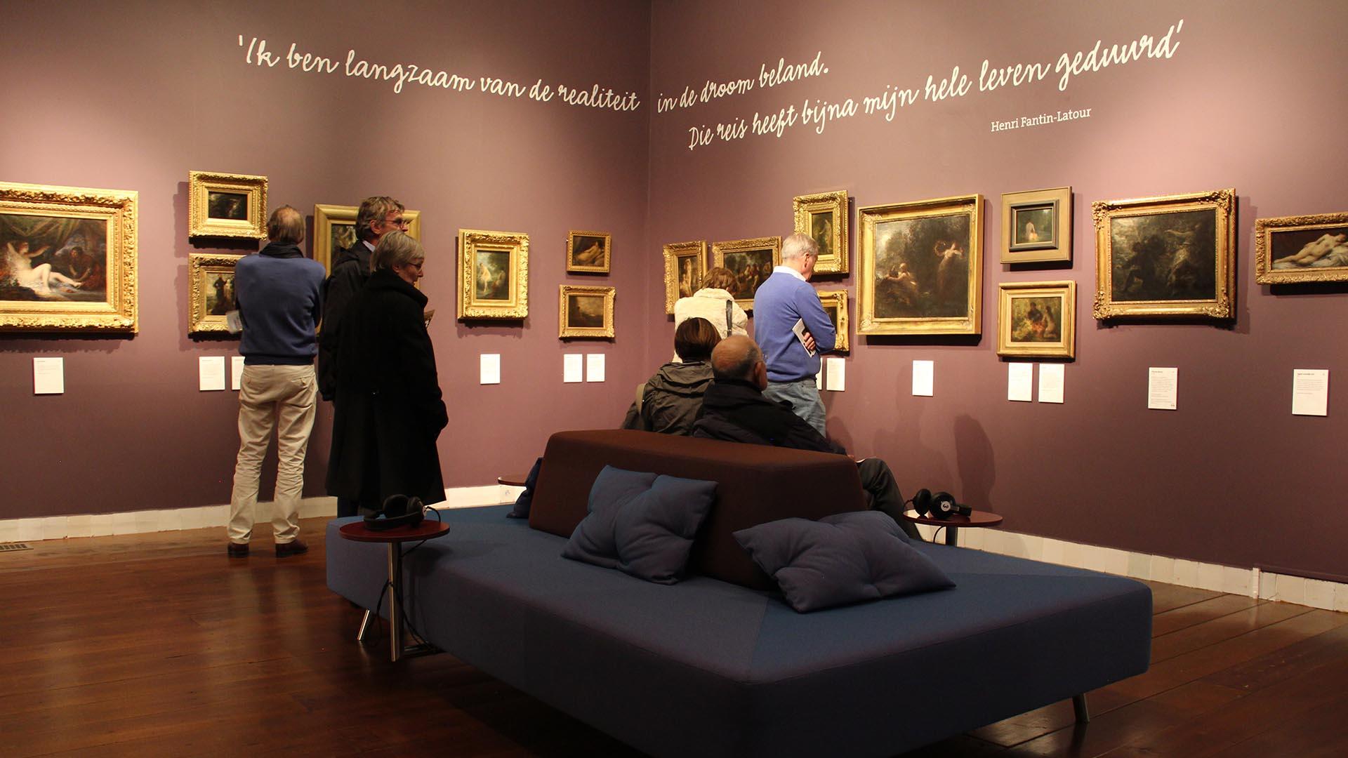 Interactieve bank Museum Gouda