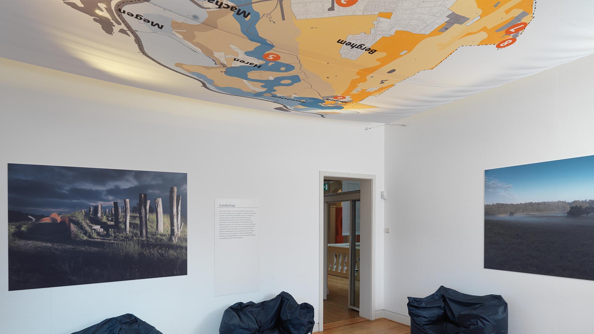 Museum Jan Cunen Studio Public plattegrond