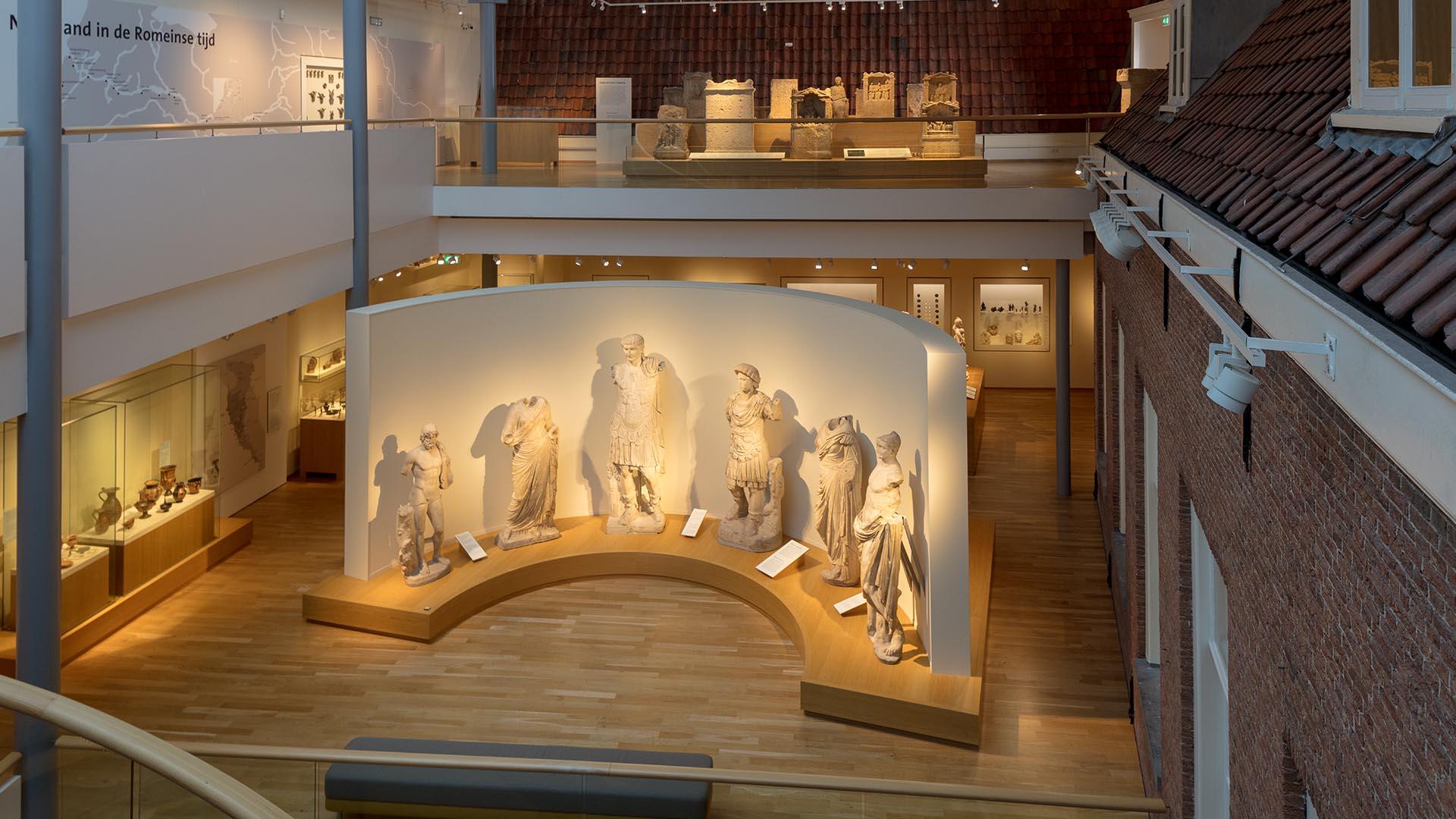 Rijksmuseum van Oudheden Keizerbeelden