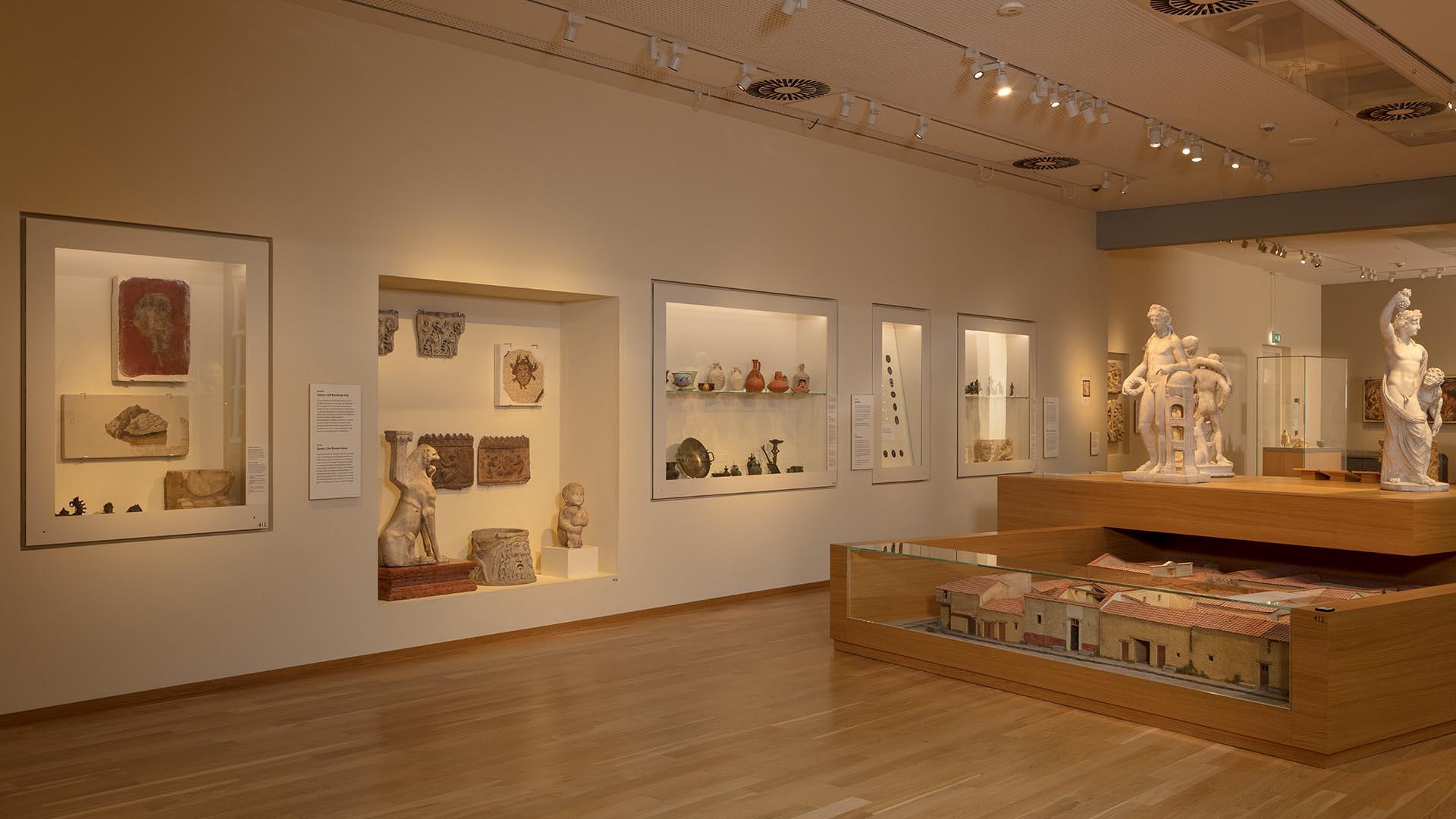 Rijksmuseum van Oudheden Maquette tijd