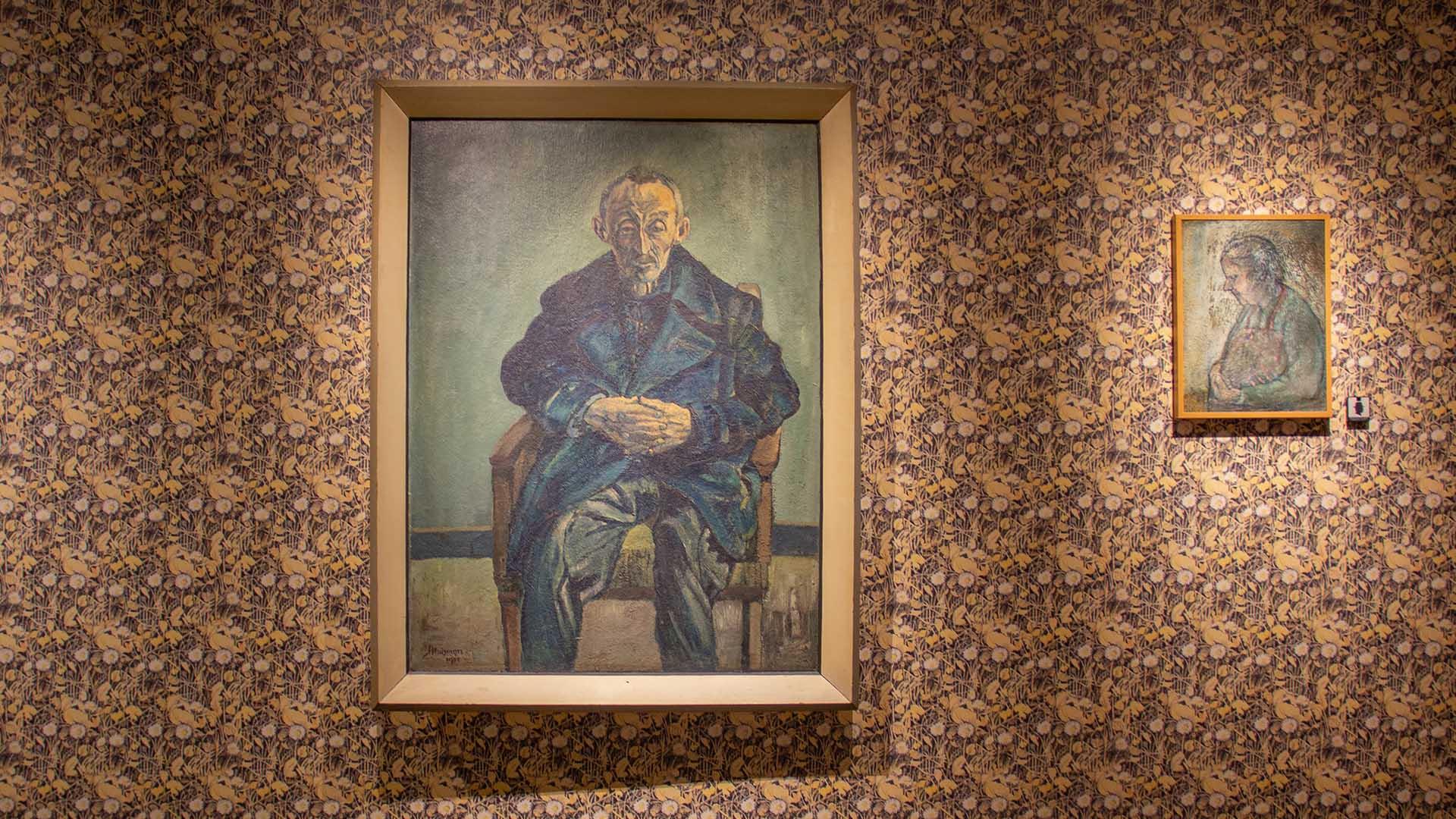Schilderij Jopie Huisman tentoonstelling geschenk uit de hemel