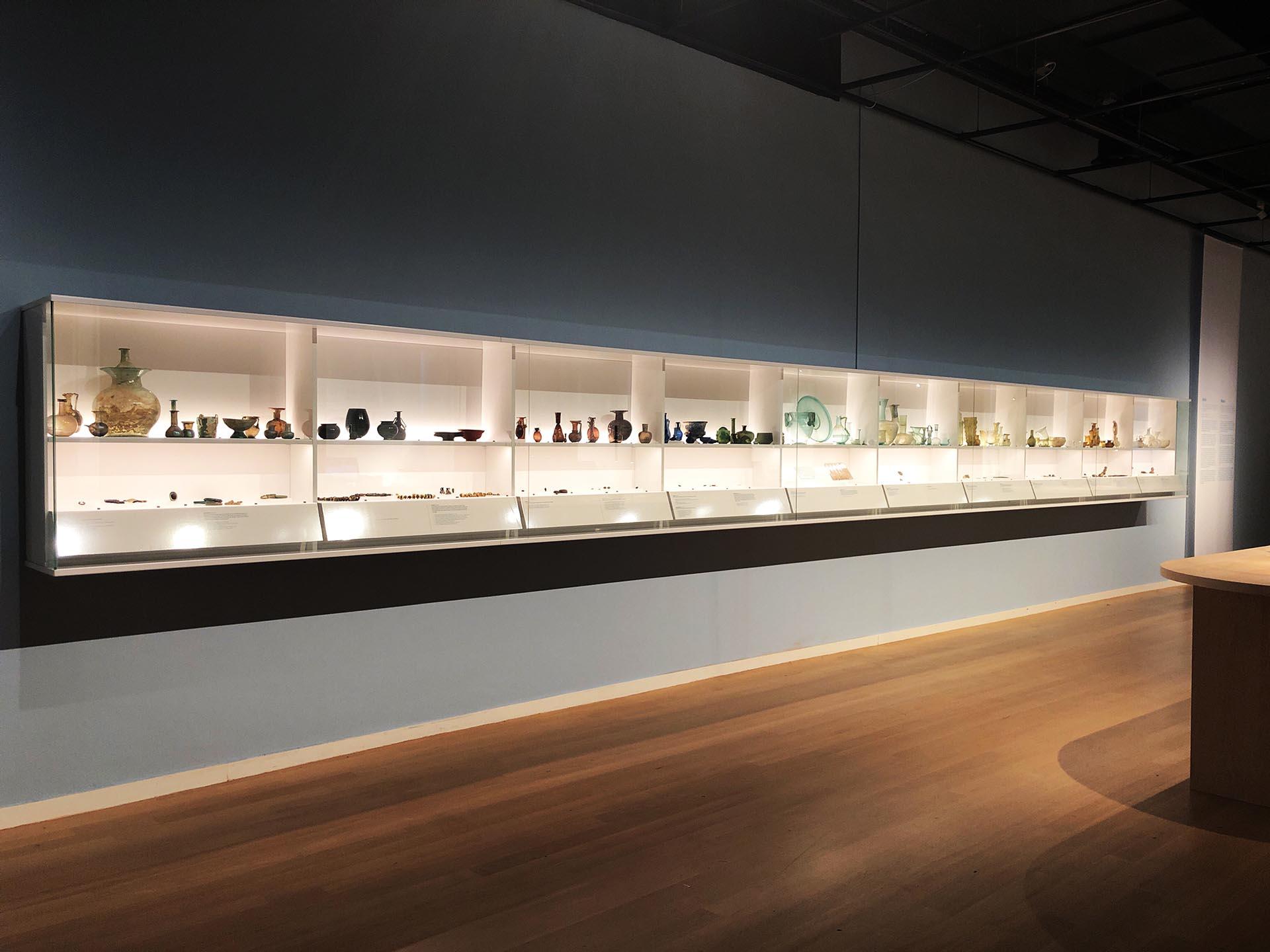 Glas Tentoonstelling RMO Leiden